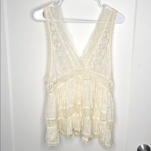 Free People Intimately Silk + Lace Cami